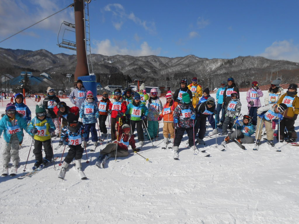 スキー訓育-カブ隊
