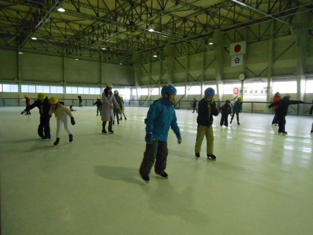 アイススケート選手になりたい!